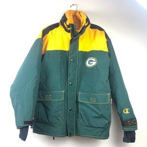 Champion Vintage Green Bay Packers Jacket NFL M
